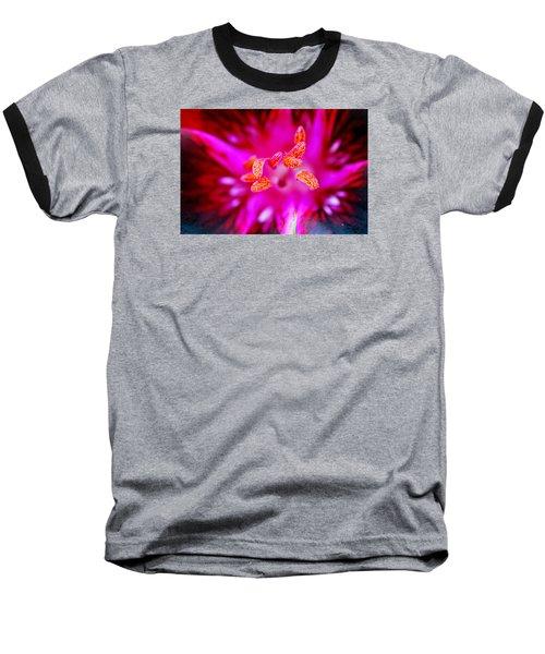 A Splash Of Colour Baseball T-Shirt by Wendy Wilton