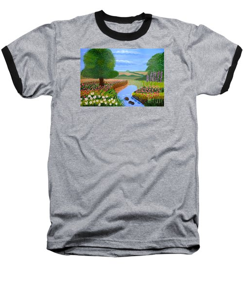 A Spring Stream Baseball T-Shirt