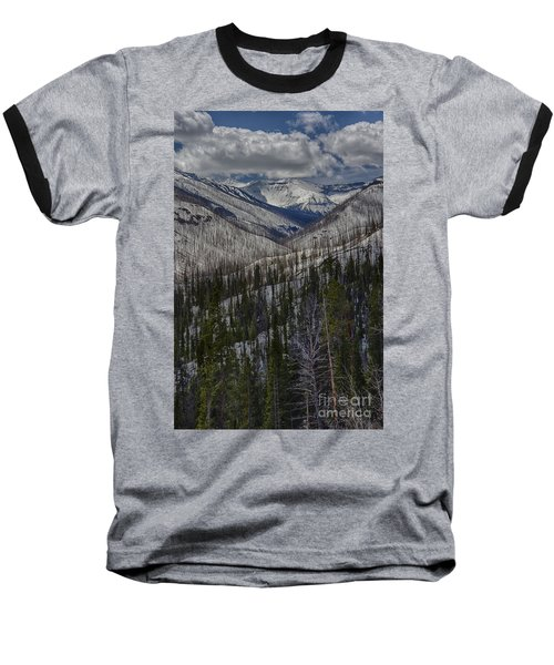 A Spring's Look To The Right On The Way Into Yellowstone Baseball T-Shirt