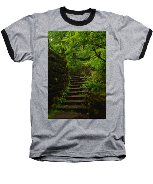 A Stairway To The Green Baseball T-Shirt