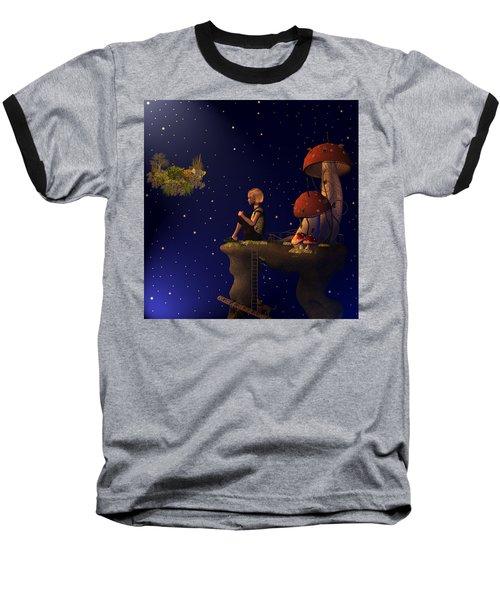 A Starry Starry Night Baseball T-Shirt