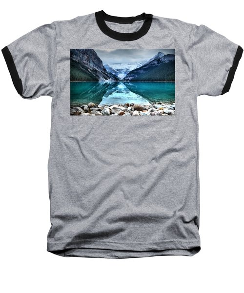 A Still Day At Lake Louise Baseball T-Shirt