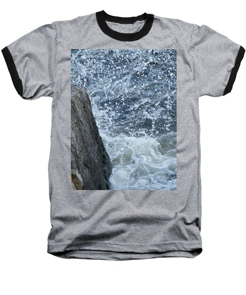 A Stillness In The Storm  Baseball T-Shirt by Brian Boyle