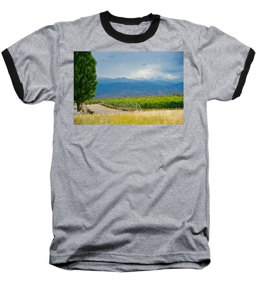 Storm On The Horizon Baseball T-Shirt