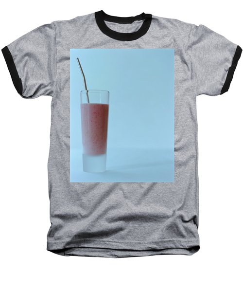 A Strawberry Flavored Drink Baseball T-Shirt