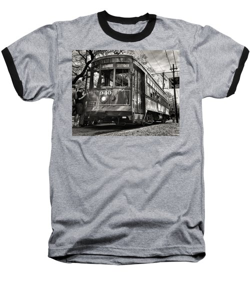 A Streetcar Named St Charles Baseball T-Shirt