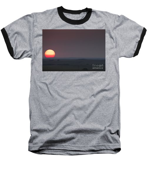 A Sun Like Mars Baseball T-Shirt