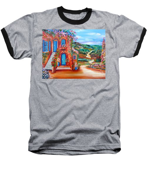 A Sunny Day In Chianti Tuscany Baseball T-Shirt