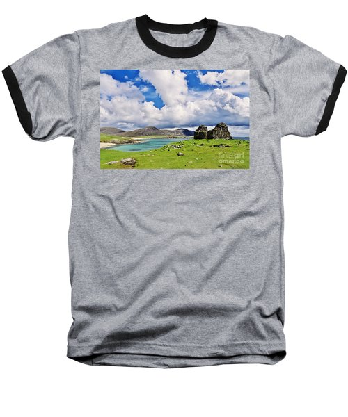 A Sunny Day In The Hebrides Baseball T-Shirt by Juergen Klust
