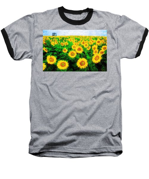 A Sunny Day With Vincent Baseball T-Shirt