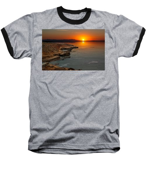 A Sunset Baseball T-Shirt by Lynn Geoffroy