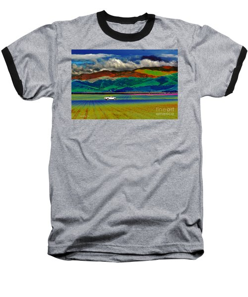 Baseball T-Shirt featuring the photograph A Surreal Ride by Susan Wiedmann