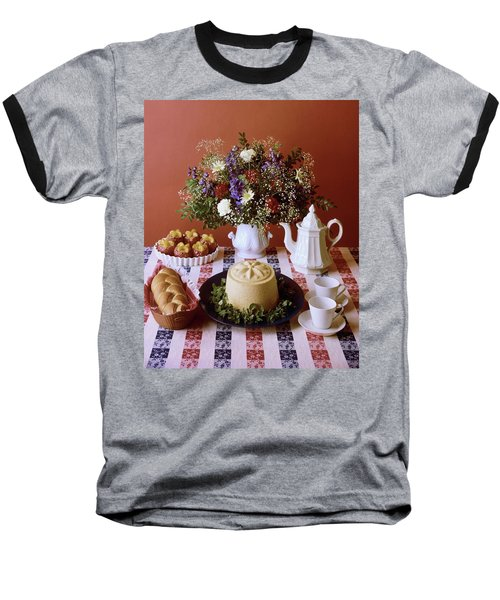 A Table Of Pastries Baseball T-Shirt