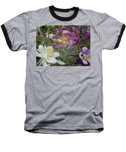 a taste of dew i do and PCC  garden too     GARDEN IN SPRING MAJOR Baseball T-Shirt