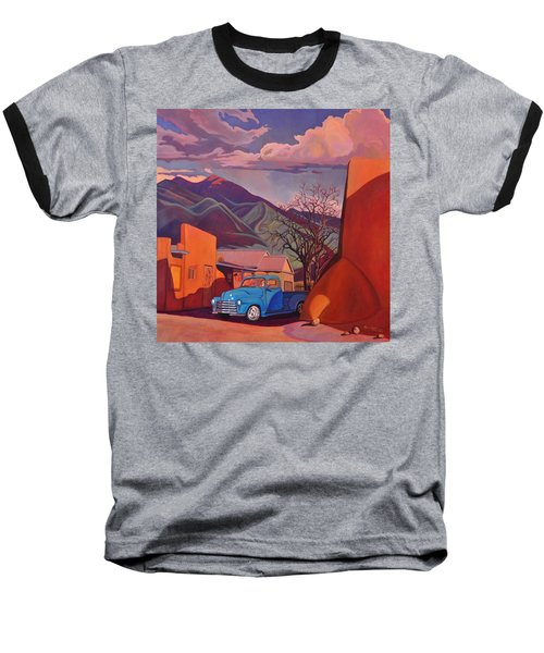 A Teal Truck In Taos Baseball T-Shirt