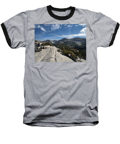 A Tenaya View Baseball T-Shirt