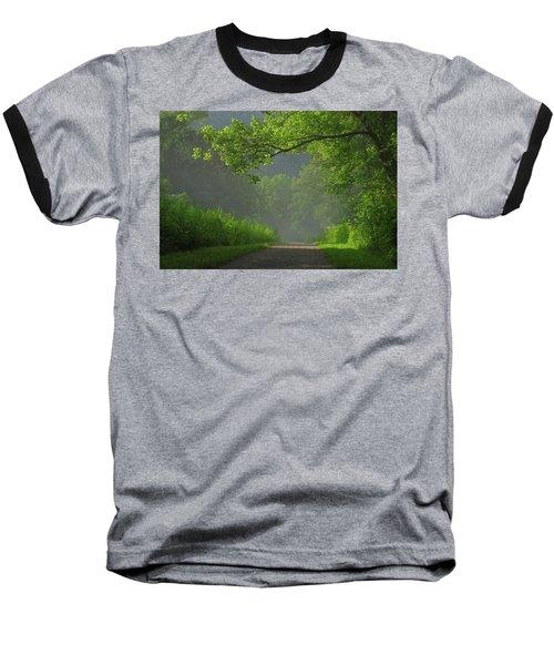 A Touch Of Green Baseball T-Shirt