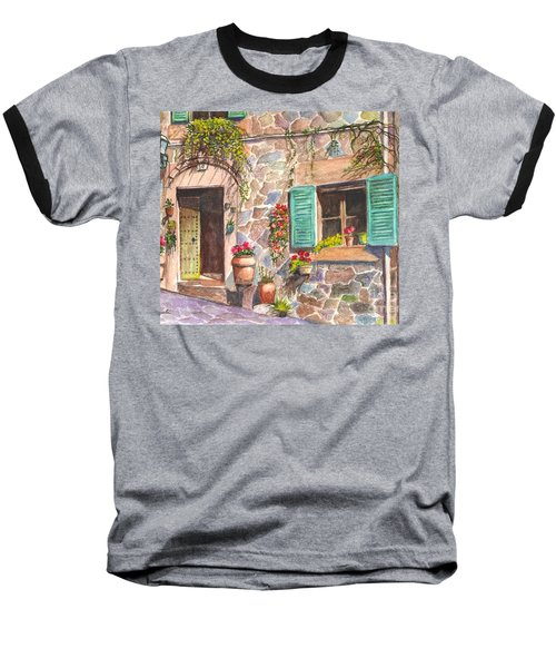 A Townhouse In Majorca Spain Baseball T-Shirt