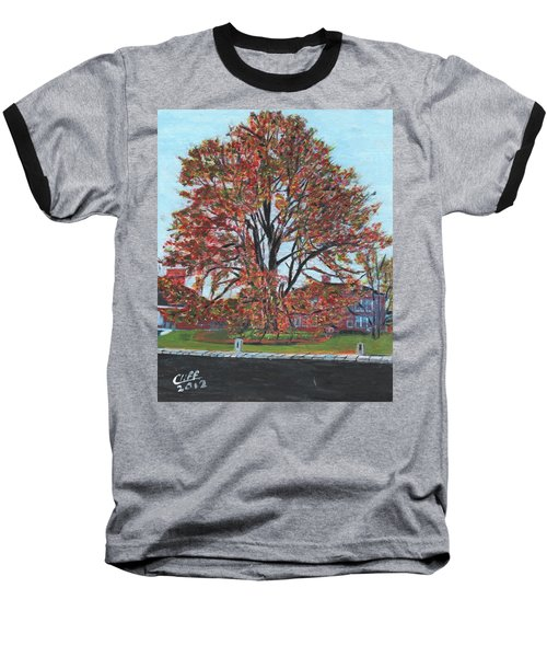 A Tree In Sherborn Baseball T-Shirt