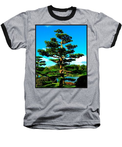 A Tree... Baseball T-Shirt by Tim Fillingim