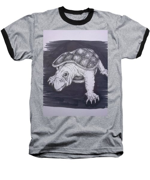 A Turtle Named Puppy Baseball T-Shirt
