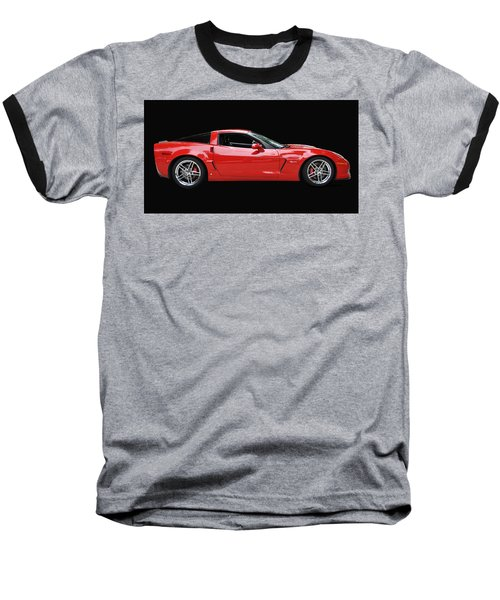 A Very Red Corvette Z6 Baseball T-Shirt