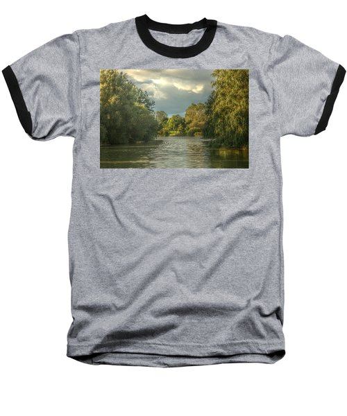 A View Down The Lake Baseball T-Shirt