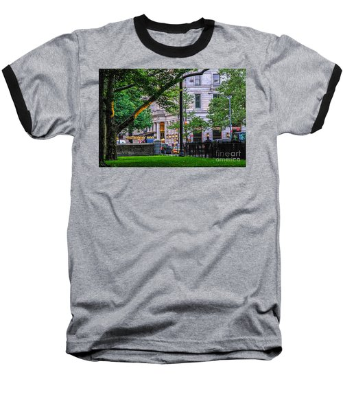 A View From Central Park Baseball T-Shirt