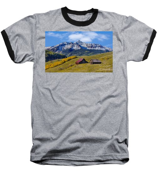 A View From Last Dollar Road Baseball T-Shirt by Jerry Fornarotto
