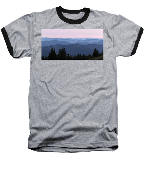 A View From Timberline Baseball T-Shirt