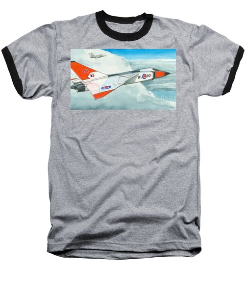 Baseball T-Shirt featuring the painting A Vision Lost by Michael Swanson