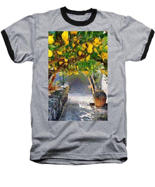 A Voult Of Lemons Baseball T-Shirt