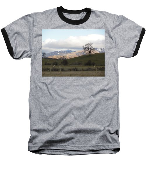 Baseball T-Shirt featuring the photograph A Walk In The Countryside In Lake District England by Tiffany Erdman