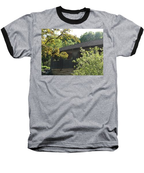 Baseball T-Shirt featuring the photograph A Walk In The Park by Tiffany Erdman