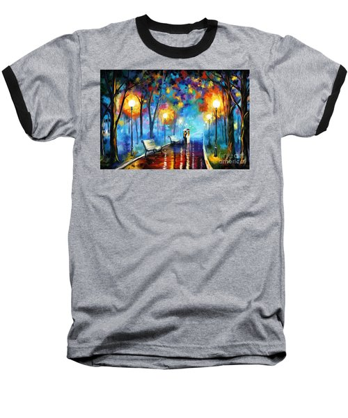 A Walk In The Park Baseball T-Shirt by Tim Gilliland
