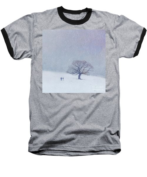 A Walk In The Snow Baseball T-Shirt