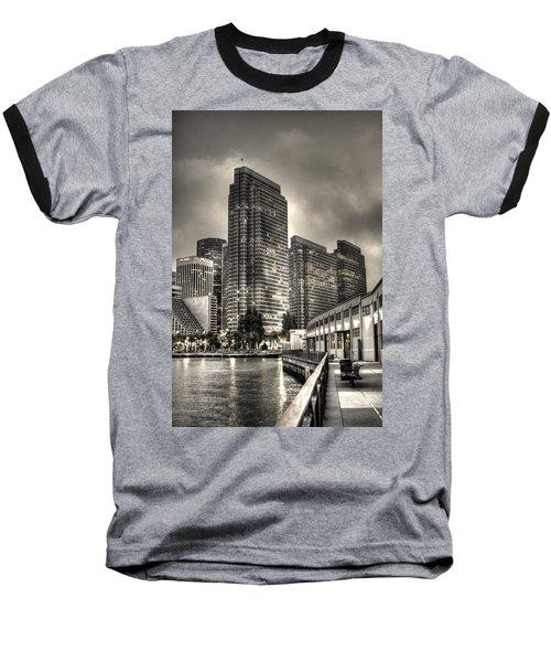 A Walk On The Embarcadero Waterfront Baseball T-Shirt