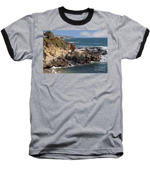 A Walk Through The Rocks Baseball T-Shirt by Loriannah Hespe