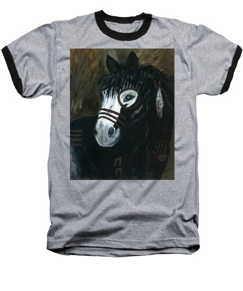 A War Pony Baseball T-Shirt
