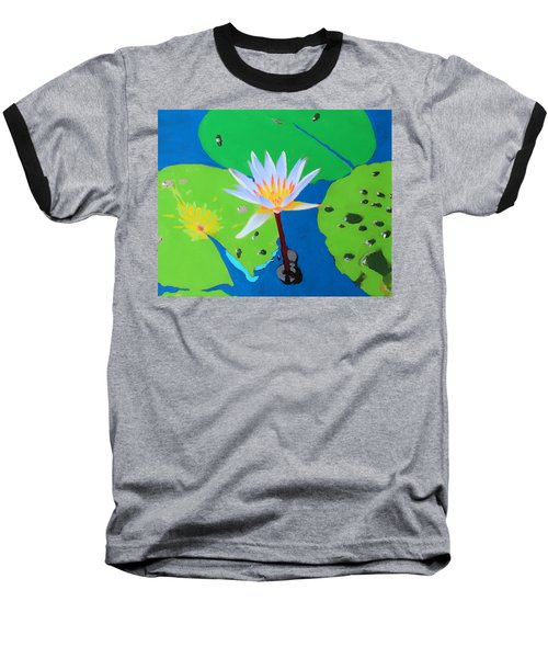 A Water Lily In Its Pad Baseball T-Shirt