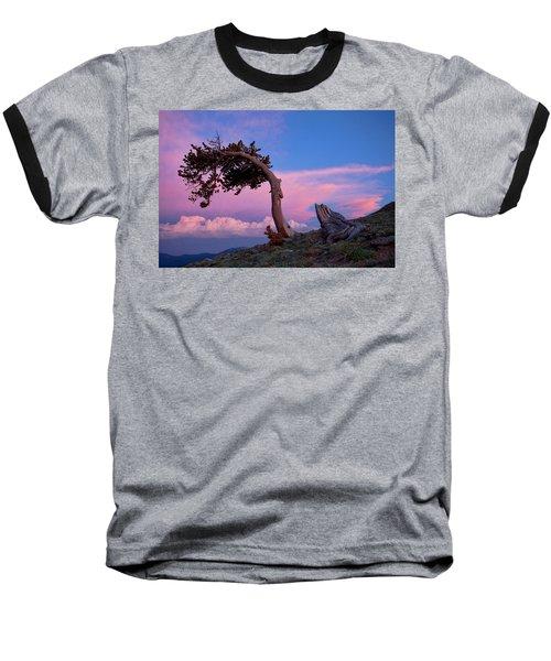 A Westerly Wind Baseball T-Shirt by Jim Garrison