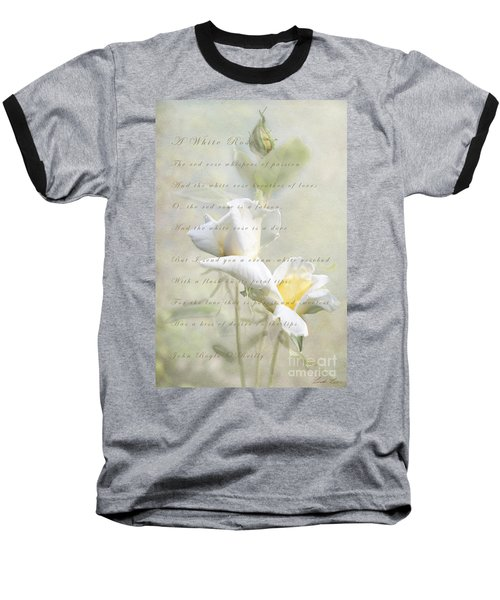 A White Rose Baseball T-Shirt