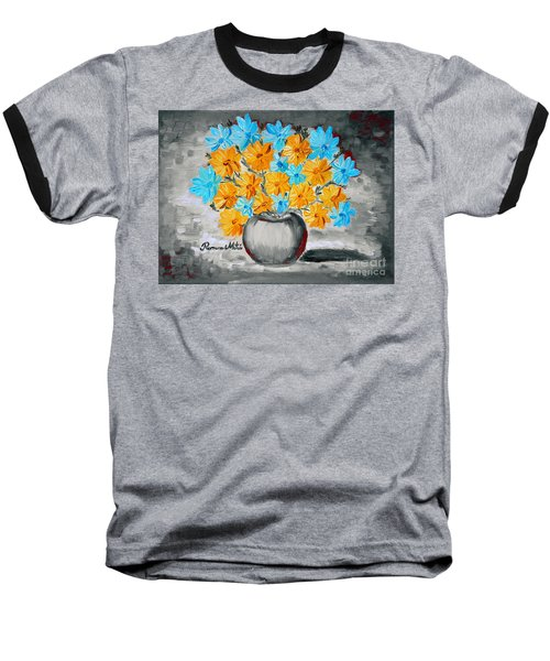 A Whole Bunch Of Daisies Selective Color II Baseball T-Shirt