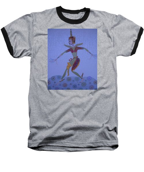 A Wild Dance Of A Nymph Baseball T-Shirt by Marie Schwarzer