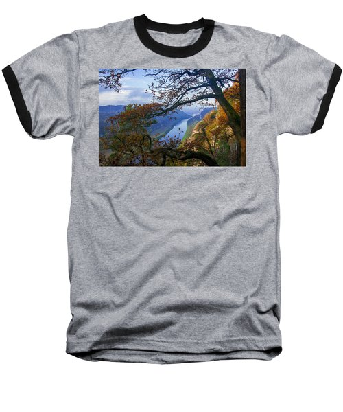 A Window To The Elbe In The Saxon Switzerland Baseball T-Shirt