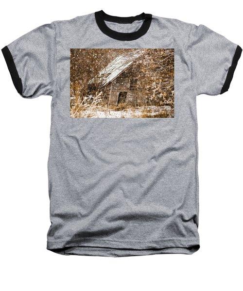 A Winter Shed Baseball T-Shirt