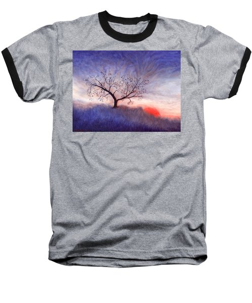 A Wintering Tree Baseball T-Shirt