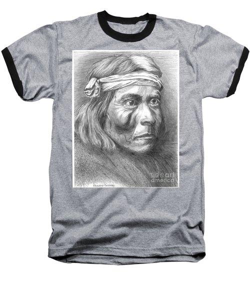 Shadow Catcher, A Zuni Governor Baseball T-Shirt