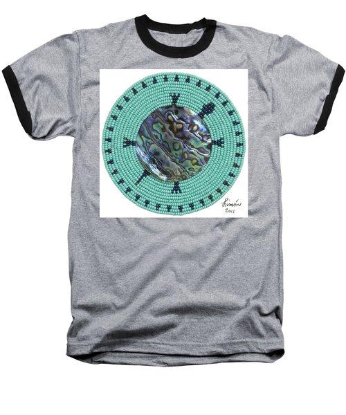 Abalone Shell Baseball T-Shirt