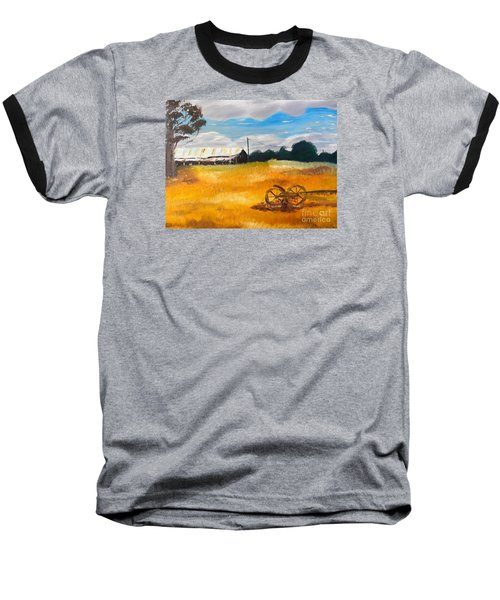 Abandon Farm Baseball T-Shirt